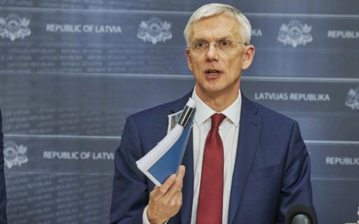 Ministru prezidents: Latvijā ir jāīsteno finanšu sektora kontroles reforma