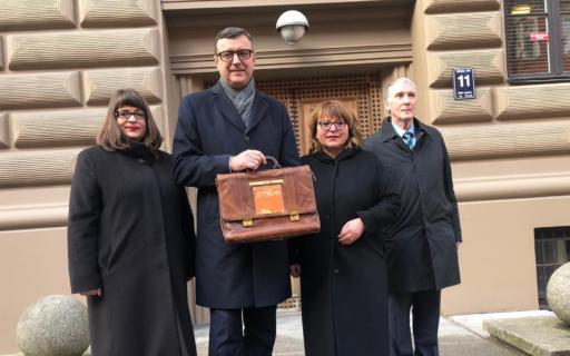 Finanšu ministra Jāņa Reira ziņojums par 2019. gada valsts budžetu