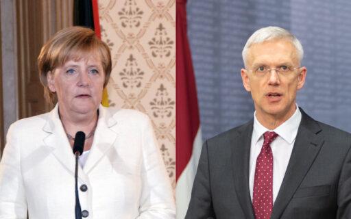 Ministru prezidents Krišjānis Kariņš tiksies ar Vācijas kancleri Angelu Merkeli