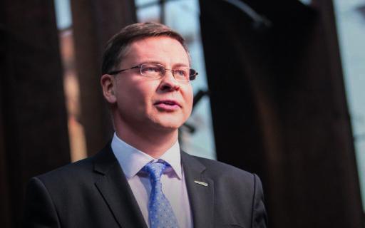 Valda Dombrovska runa Vienotības domes un Jaunās Vienotības kopsēdē
