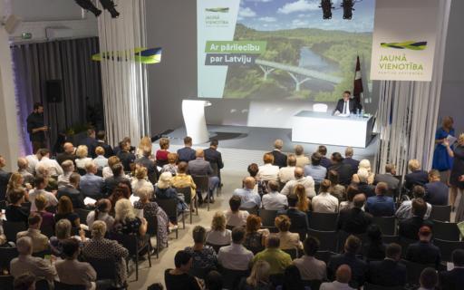 Partija VIENOTĪBA kongresā debatēs par klimata ekonomiku, nākotnes pašvaldībām un zināšanu sabiedrību