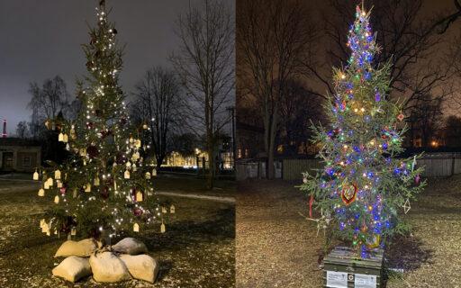 Ziemassvētku sajūta ienāk Rīgas apkaimēs