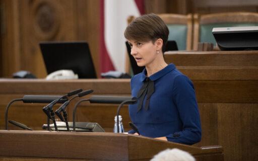 JAUNĀS VIENOTĪBAS komandai pievienojas Saeimas deputāte Iveta Benhena-Bēkena