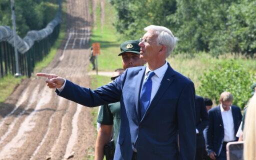 Ministru prezidents Krišjānis Kariņš ar iekšlietu, finanšu un ārlietu ministriem runās par Latvijas Austrumu robežas stiprināšanu
