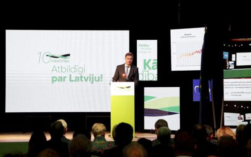 Dombrovskis: VIENOTĪBAS spēks ir spējā pārvērst grūtības iespējās