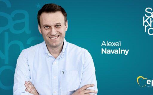 Kalniete: Alekseja Navaļnija cīņa par krievu tautas vārda un domas brīvību ir pelnījusi Saharova balvu